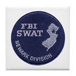 FBI Newark SWAT Tile Coaster