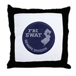 FBI Newark SWAT Throw Pillow