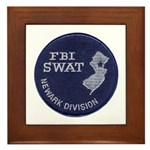 FBI Newark SWAT Framed Tile