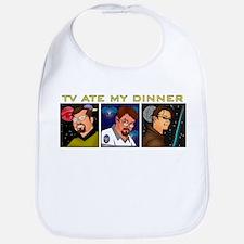 TV Ate My Dinner Bib