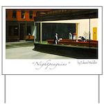 Nightpenguins is back! Yard Sign