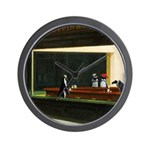 Nightpenguins is back! Wall Clock