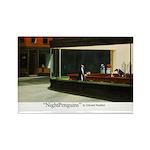 Nightpenguins is back! Rectangle Magnet (10 pack)