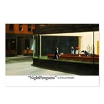 Nightpenguins is back! Postcards (Package of 8)