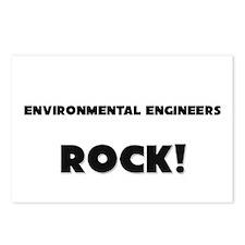Environmental Engineers ROCK Postcards (Package of