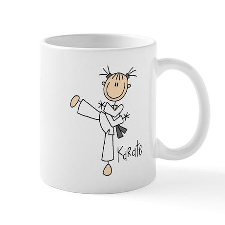 Stick Figure Karate Mug