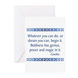 Inspirational quotes Greeting Cards
