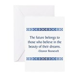 Eleanor roosevelt Greeting Cards (10 Pack)