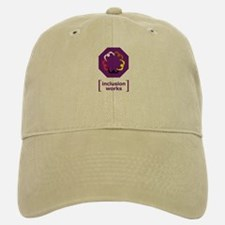 [inclusion works] Baseball Baseball Cap (white or khaki)