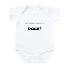 Environmental Consultants ROCK Infant Bodysuit