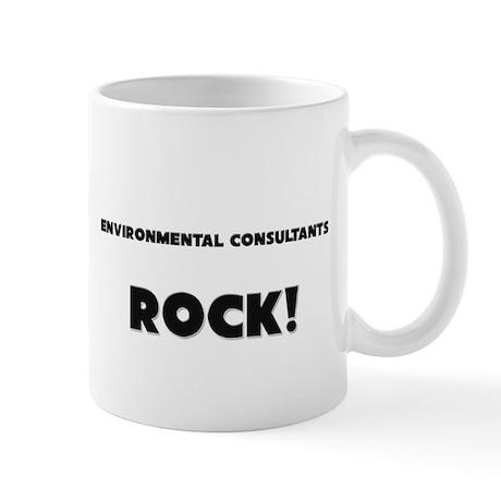 Environmental Consultants ROCK Mug