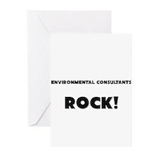 Environmental Consultants ROCK Greeting Cards (Pk