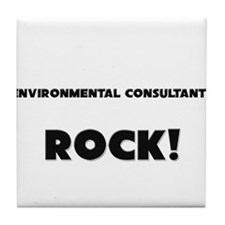 Environmental Consultants ROCK Tile Coaster