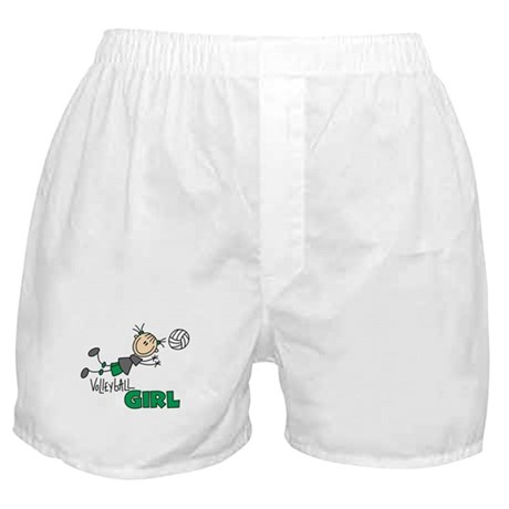 Volleyball Girl Boxer Shorts