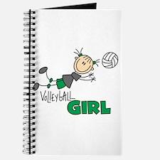 Volleyball Girl Journal