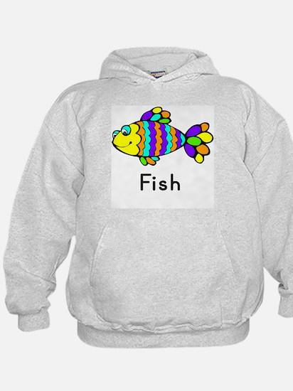 Fish Flashcard Hoodie