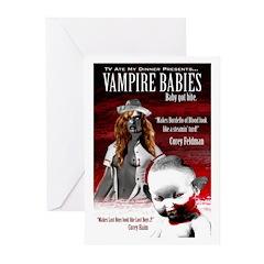 Vampire Babies Greeting Cards (Pk of 10)