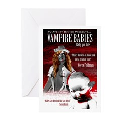 Vampire Babies Greeting Cards (Pk of 10)