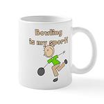 Stick Figure Bowling Mug
