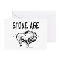 STONE AGE Greeting Cards (Pk of 10)