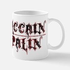 McCain Palin Grunge Logo Mug