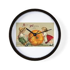 Good Thanksgiving Wall Clock