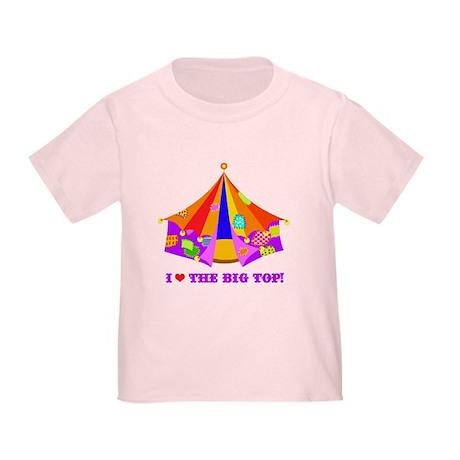 Patchwork Big Top Toddler T-Shirt
