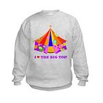 Patchwork Big Top Kids Sweatshirt