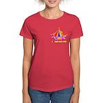 Patchwork Big Top Women's Dark T-Shirt