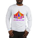 Patchwork Big Top Long Sleeve T-Shirt