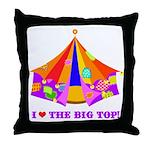 Patchwork Big Top Throw Pillow