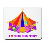 Patchwork Big Top Mousepad