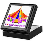 Patchwork Big Top Keepsake Box