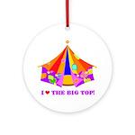 Patchwork Big Top Ornament (Round)