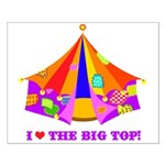 Patchwork Big Top Small Poster