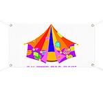 Patchwork Big Top Banner