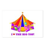 Patchwork Big Top Postcards (Package of 8)