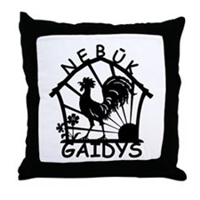 Nebuk Gaidys Throw Pillow