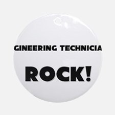 Engineers ROCK Ornament (Round)