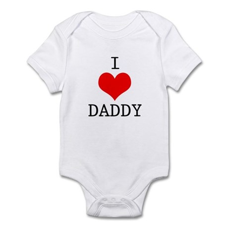 I Love Daddy Infant Bodysuit