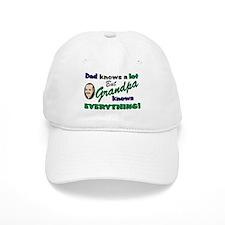 Grandpa Knows Everything Baseball Cap