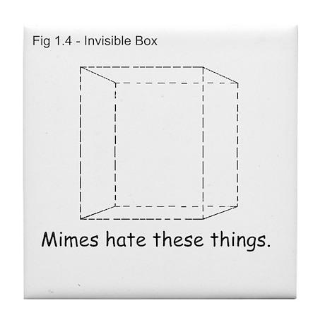 Invisible Box Tile Coaster