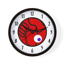 Fluffball Lobster Wall Clock