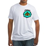 Circus Tent Fitted T-Shirt