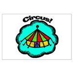 Circus Tent Large Poster