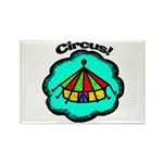 Circus Tent Rectangle Magnet (100 pack)