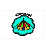 Circus Tent Postcards (Package of 8)