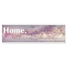 Galactic Center bumper sticker