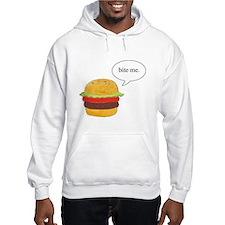 Bite Me Burger Hoodie