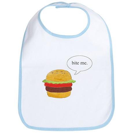 Bite Me Burger Bib